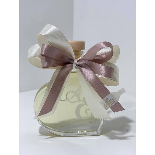 Bomboniera Scatola Bottiglia Liquore5cl Cuore completa di confezione personalizzabile matrimonio comunione laurea