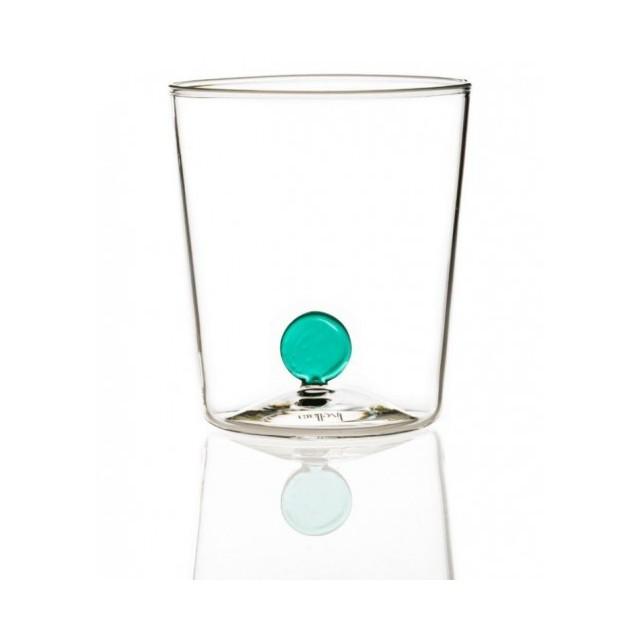 Livellara Bottone Set 6 bicchieri multicolor in vetro