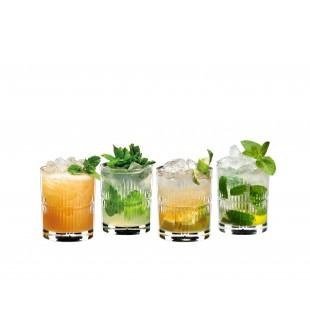 Riedel BARWARE MIXING RUM SET 4 bicchieri cristallo