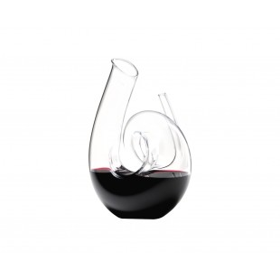 RIEDEL decanter vino CURLY fatto a mano trasparente