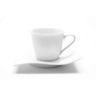 Maxwell & Williams MOTION Tazzina Caffè con piattino (set 4 pezzi)