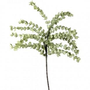 L'Oca Nera 1P142 Eucalipto Verde Chiaro in Eva-POLIETILENE ESPANSO  Fiore Artificiale