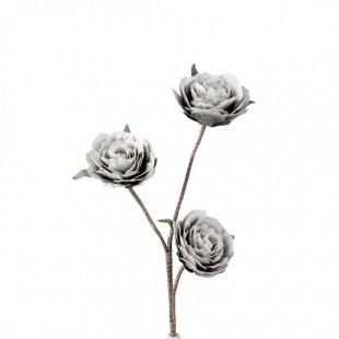 L'Oca Nera 1P141 Rosa Ramificata in Eva-POLIETILENE ESPANSO  Fiore Artificiale