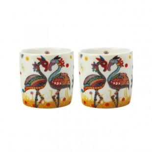 Maxwelll&Williams Smile Style Set 2 espressini caffè Flutter farfalla