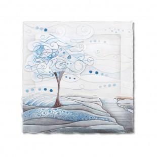 Cartapietra Quadro Formella L'albero dei sogni carta da zucchero 50 x 50 cm 1105106cz