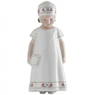 Royal Copenhagen Elsa con vestito bianco RF1021404