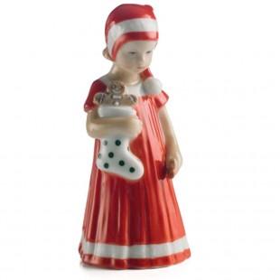 Royal Copenhagen Elsa con Calza Mini RF1021092 rosso