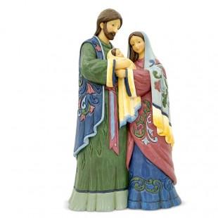 Jim Shore Heartwood Creek One piece Holy Family Figurine Presepe Natività