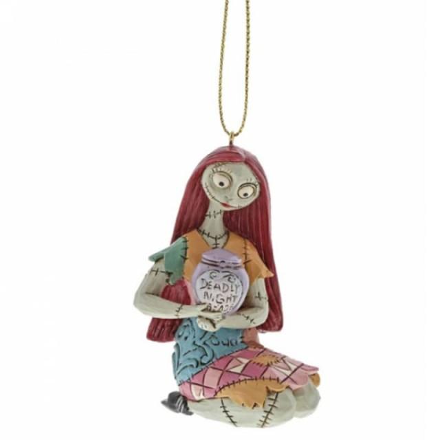 Jim Shore DISNEY Sally Ornament Addobbo albero di Natale the nightmare before christmas