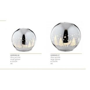 L'Oca Nera Lucenti Atmosfere Sfera Luminosa Natale 1XM540