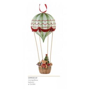L'Oca Nera Festa Viennese Mongolfiera Natale 1XM532.10