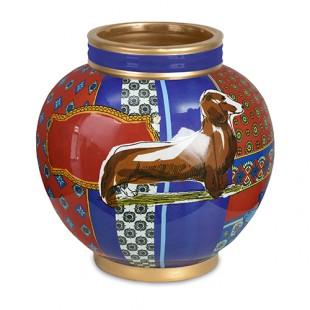 Baci Milano Vaso in Porcellana Joke Wild Land Altezza 24 cm