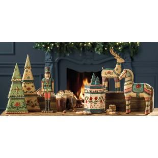 L'Oca Nera Parata di Natale Decori da appoggio Natale 1XM533