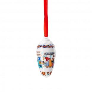 Hutschenreuther Panetteria di Natale 2020 Pigna in porcellana