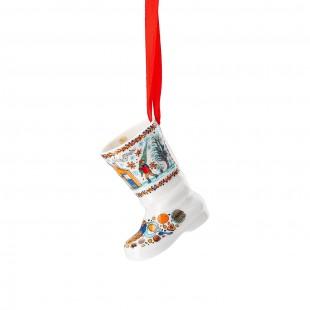 Hutschenreuther Panetteria di Natale 2020 Stivale in porcellana