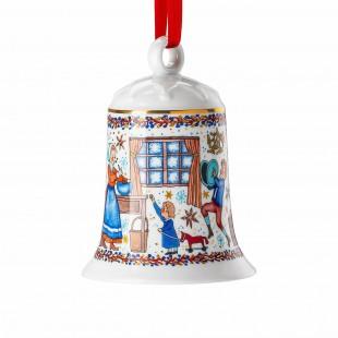 Hutschenreuther Panetteria di Natale 2020 Campanella in porcellana 12 cm Limited Edition