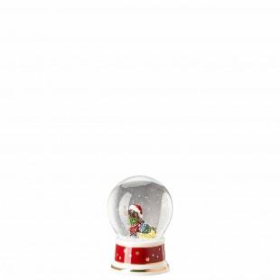 Hutschenreuther Canti Natalizi 2020 Palla di neve Boule de Neige in porcellana