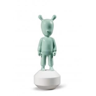 Lladrò The Green GUEST-LITTLE statua in porcellana