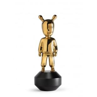 Lladrò The Golden GUEST-LITTLE statua in porcellana
