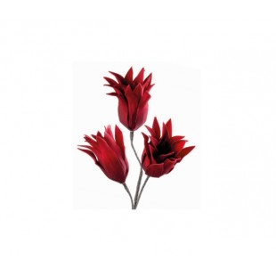 L'Oca Nera NATALE PETALI DI PORPORA DEC.01 fiore ramo