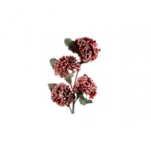 L'Oca Nera NATALE PETALI DI PORPORA DEC.02 fiore ramo