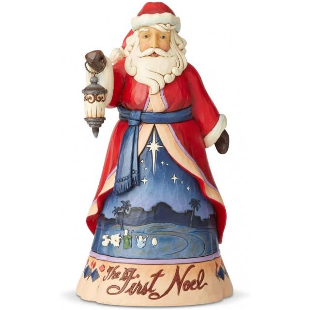 Jim Shore Heartwood Creek 13TH Christmas Song Santa Figurine Babbo Natale