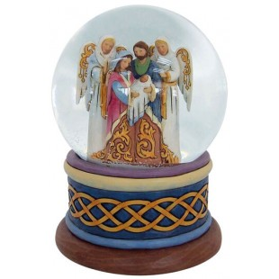 Jim Shore Heartwood Creek Nativity play Snow Ball 13 cm Figurine Natività Buole de Neige