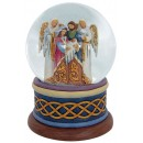 Jim Shore Heartwood Creek Nativity play Snow Ball 13 cm Figurine Natività Buole de Neige