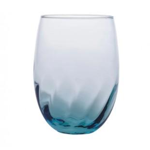 Levante Onda Set 6 bicchieri in vetro h9.5 cm