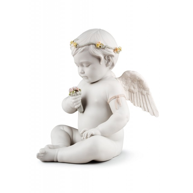 Lladrò Angelo Celestiale 01009532 statua in porcellana