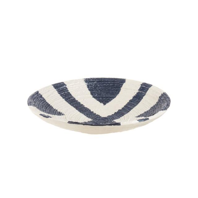 L'Oca Nera 1O201 Piatto decorativo in Ceramica Ø29x6