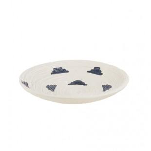 L'Oca Nera 1O204 Piatto decorativo in Ceramica Ø29x6