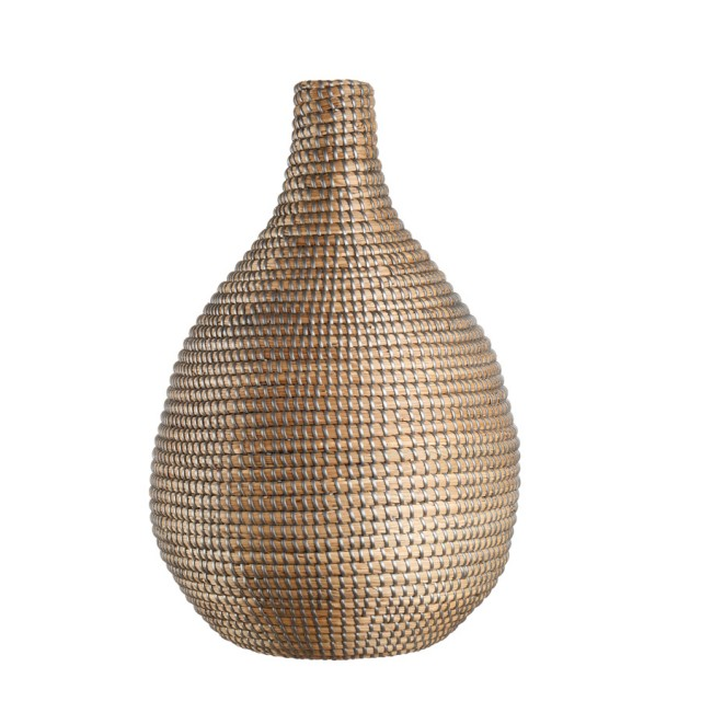 L'Oca Nera 1R100 Vaso in Seagrass Ø30x49h