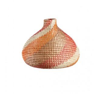 L'Oca Nera 1R101 Vaso in Seagrass Ø36x31h