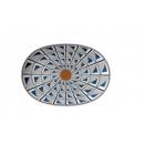 Richard Ginori  AUREA vassoio ovale piano 33 cm forma Venezia